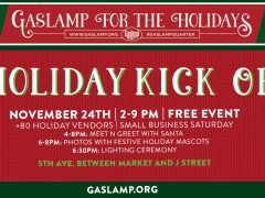 Gaslamp Holiday Kick Off