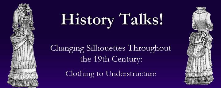 History Talks- Changing Silohuettes- proof purple