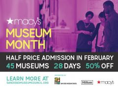 MACY'S MUSEUM MONTH