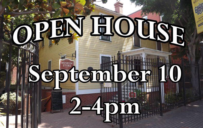 Open House! 9-10-17