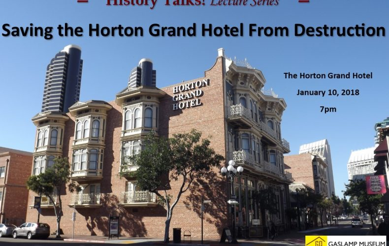 History Talks! Saving the Horton Grand Hotel from Destruction