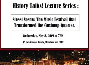 History Talks Gaslamp Museum