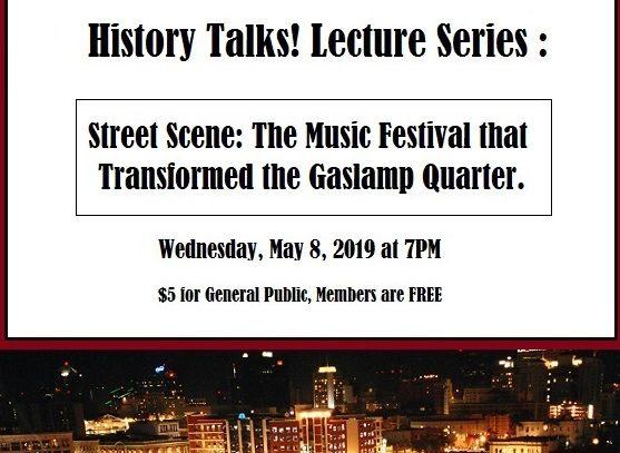History Talks Gaslamp Museum